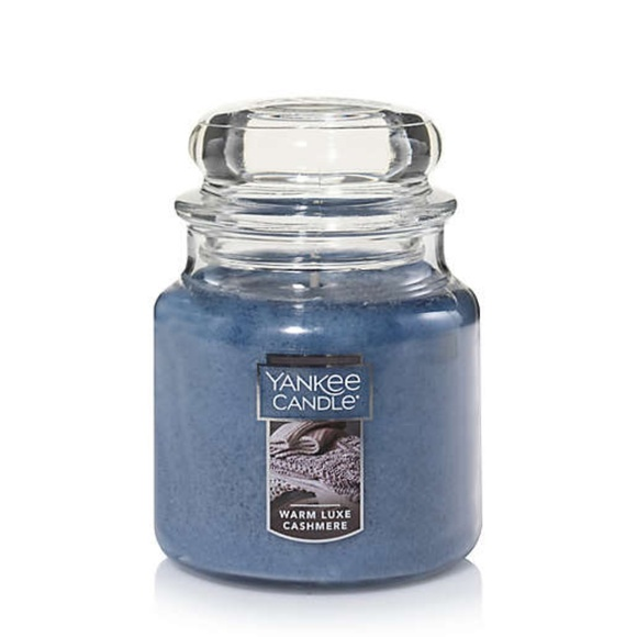 Yankee Candle Warm Luxe Cashmere Small Jar Candle